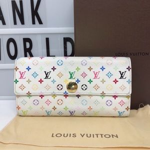 Louis Vuitton Monogram murakami Multicolore Wallet